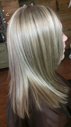 Mocha blondes hair