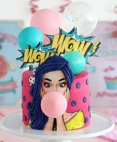 Love Craft, Beautiful Cakes, Birthday Cake, Girls, Desserts, Crafts, Food, Style, Food Cakes