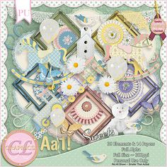 CLGraphics Sweets Page Kit