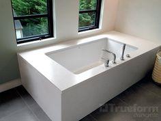 Concrete Tub Surrounds -Trueform Concrete Custom Work