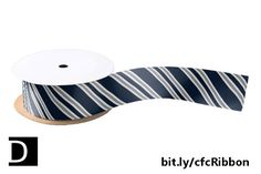 This stylish ribbon features navy blue, white, and silver grey diagonal stripes. You can customize the design and change the navy blue stripes to any other color you desire. https://www.zazzle.com/navy_blue_and_silver_diagonal_stripes_satin_ribbon-256985725085757365?rf=238083504576446517&tc=20170711_pint_SSOZ #StudioDalio gifting crafting supplies