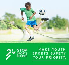 Great resources for preventing sports injuries in children and teens