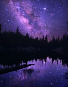 Amethyst Sky - if this really exists then this has to be one of the coolest things in the world.