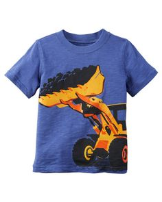 Carter's Toddler Boys' Graphic-Print T-Shirt Baby Boy Tops, Carters Baby Boys, Toddler Boys, Toddler Outfits, Baby Boy Outfits, Kids Outfits, Kool Kids, Baby Swag, Graphic Tees