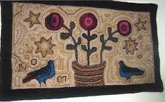 primitive rug
