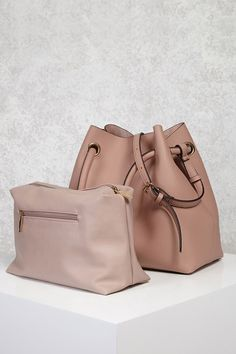 Pebbled Faux Leather Tote Bag pink blush
