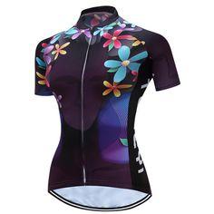 teleyi Women Cycling Clothing Gel Pads Quick Dry Windproof Profesional Road  Mountain MTB Bike Cycling Jersey Set NFS-316 4e103329b