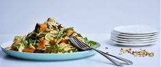 Angelo's Fresh Pasta Products | Roast Pumpkin and Rocket Pasta Salad by Shelley