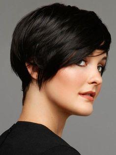 Hairstyle for Short Hair - Cute Easy Haircut