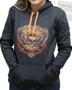 Harley pullover hoodie