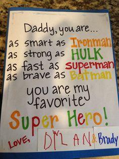 Father's Day idea