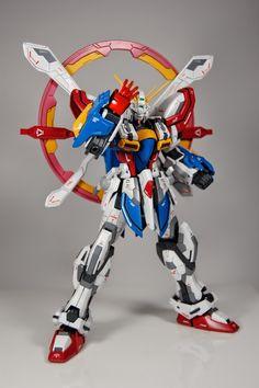 GUNDAM GUY: MG 1/100 God Gundam Evolve - Customized Build