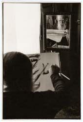 Bonuomo's Collection. Mimmo Jodice, Ritratto del pittore Emilio Notte, 1980