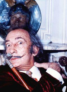 Salvador Dali, 1972. Photographed by Allan Warren