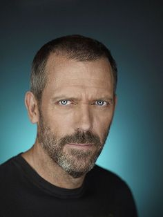 Even without a caption, this IS House, not Hugh. His face, his manner, everything about him transforms into his character. He is utterly brilliant.