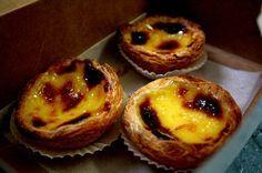 Deliciosos pasteles de nata o de Belém, hechos con Thermomix. Crujientes y cremosos a la vez.