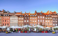 Hidden gems in Europe that will blow your mind. Underrated hidden gems in Europe. City Breaks in Europe Warsaw Old Town, Warsaw Poland, Week End En Europe, Cool Places To Visit, Places To Go, Visit Poland, Voyager Loin, Destinations, Les Continents