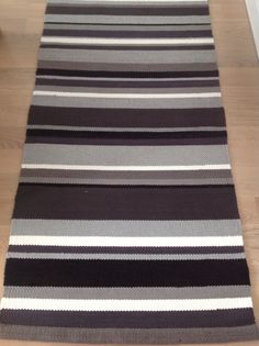 Woven Rug, Loom, Needlework, Diy And Crafts, Weaving, Rugs, Crochet, Home Decor, Bedspread