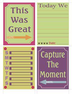 A Southern Lady's Ramblings: Free Printable Journaling Cards Set 2❤❤