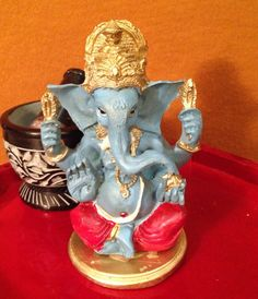 Blessed Lord Ganesha statue remover of all by TriquetraBoutique, $14.00