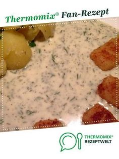 World's best dill sauce from Melissa_Alfi. A Thermomix ® recipe from the Sauces / Dips / Spreads category on www.de, the Thermomix ® Community. World's best dill sauce Jessica Wietzig wietzig thermomix World's best dill sauce Slow Cooker Recipes, Low Carb Recipes, Beef Recipes, Baking Recipes, Vegan Recipes, Whole30 Recipes, Cake Recipes, Dessert Recipes, Shrimp Recipes