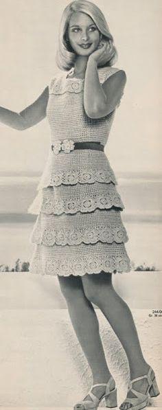 【转载】钩针连衣裙 - 紅陽聚寶的日志 - 网易博客