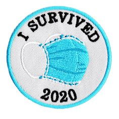 "Cute ""I Survived Morale Medical Doctor Nurse Shirt Patch / 3 inch Iron on Applique Punk Patches, Cool Patches, Pin And Patches, Iron On Patches, Diy Patches, Cute Stickers, Laptop Stickers, Custom Patches, Morale Patch"
