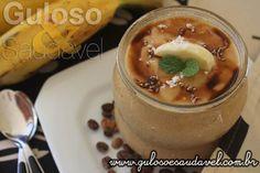Quer um doce saudável, saboroso, fácil e rápido de fazer? Não procure mais este Creme de Banana e Café atende a todas as exigências.  #Receita aqui: http://www.gulosoesaudavel.com.br/2016/05/13/creme-banana-cafe/