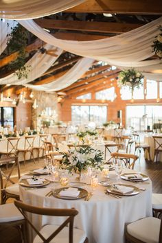 Wedding Ceiling Decorations, Ceiling Draping Wedding, Wedding Reception Table Decorations, Table Centerpieces, Natural Wedding Decor, Island Weddings, Wedding Table, Wedding Blog, Wedding Trends