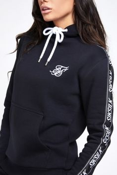 JD Sports is the leading trainer & sports fashion retailer in the UK. Ellesse Clothing, Sik Silk, Jd Sports, Sport Fashion, Tomboy, Black Hoodie, Outfit Ideas, Hoodies, Clothes For Women