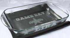 Dallas Cowboys Football GAMEDAY Casserole Dish  ANY TEAM