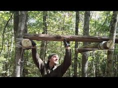 (13) How One Person Can Build A Tree Platform - YouTube