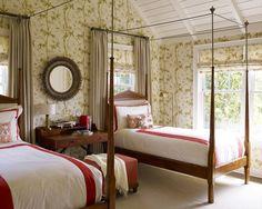 Bedroom in Sagaponack, NY by Mendelson Group