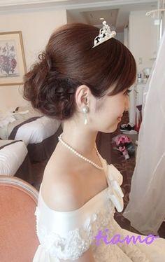 「 美人花嫁さまの3アップスタイルチェンジで素敵な一日♡ 」の画像|大人可愛いブライダルヘアメイク『tiamo』の結婚カタログ|Ameba (アメーバ)