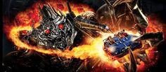 Transformers: The Ride-3D Universal Studios Hollywood, Los Angeles, California, EUA.