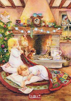 en attendant le père Noël