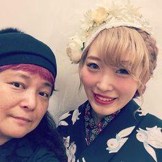 """""""【着物】 今日というか昨日は、youtuberのくまみきちゃんのスタイリングに行きました。 くまみきちゃんはわたしの着物の弟子で、着付けを教えたり、わたしの本を買ってくれて着物を作ってくれています。 かわいい様子はご本人のチャンネルで! アップされたらお知らせしまーす。  #kimono #キモノ #着物…"""""""