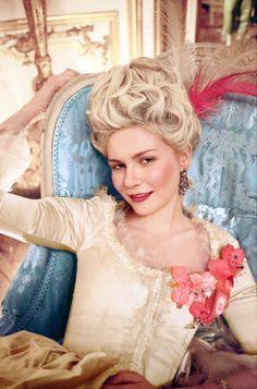 Kirsten Dunst in 'Marie Antoinette', 2006.