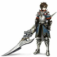 Anime guy in armor: character_male. Fantasy Character Design, Character Design Inspiration, Dnd Characters, Fantasy Characters, Game Character, Character Concept, Girl Faces, Otto Schmidt, Fantasy Heroes