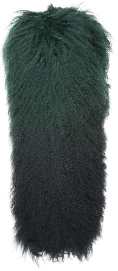 Womens bottle green ombre mongolian scarf from Topshop - £85 at ClothingByColour.com Green Fashion, Winter Hats, Topshop, Bottle, Accessories, Color, Women, Flask, Colour
