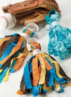 Fabric Tassel Pom Pom