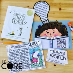 What Do you Do With an Idea? You change the world! Book companion activities for 3rd and 4th graders.