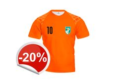 Hurray! Congratulations to our winner of orange jersey!  Claim your prize and get 20% off discount.