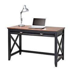 Writing Desk Natural Wood Veneer
