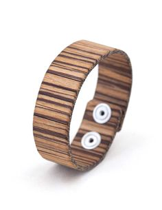 NATURE STRIPED ZEBRANO #bracelet #fashion #woodbracelet #wood #design #madeinitaly