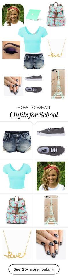 """school outfit"" by jlayre on Polyvore"