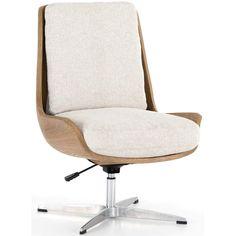 Wooden Office Chair, Modern Desk Chair, Home Office Chairs, Modern Office Chairs, Ikea Office Chair, Office Setup, Office Ideas, Cool Desk Chairs, Desk Chair Comfy