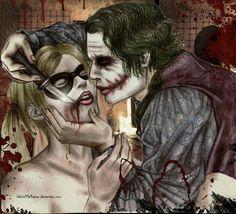 Joker and Harley Quinn <3