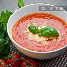 Zupa krem z pomidorów Ketogenic Recipes, Ketogenic Diet, Keto Recipes, Vegan Cake, Vegan Desserts, Vegan Gains, Keto Results, Best Soup Recipes, Ketogenic Lifestyle