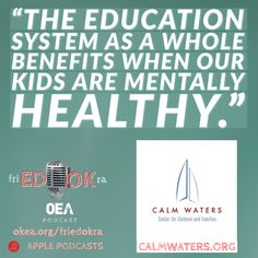 This week on Fried Okra, we talked with Calm Waters Center for Children and Families about how they help #oklaed students navigate the aftermath of grief. Listen on Apple Podcasts or online at okea.org/friedokra.